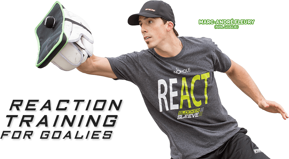 Reaction training for goalies - Marc-André Fleury (NHL PITTSBURG PENGUINS)